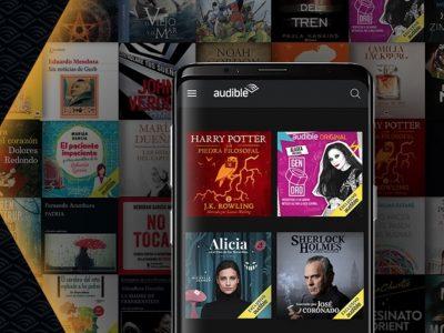 Audible, el servicio de audiolibros de Amazon llega a España