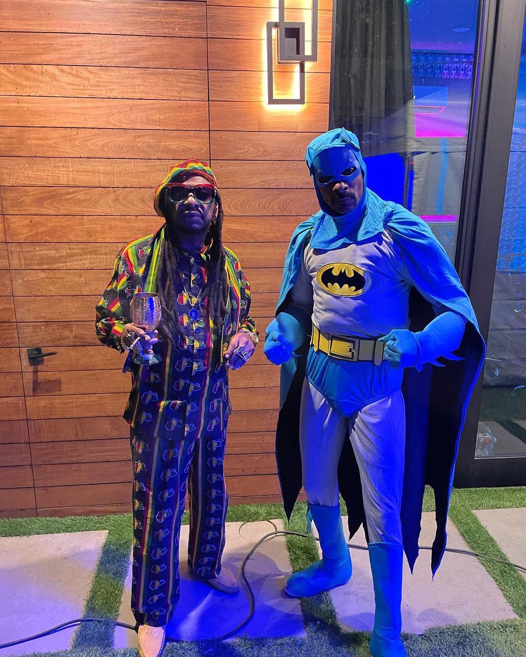 Beanie man and. Batman @thedonjuanshow As beanie
