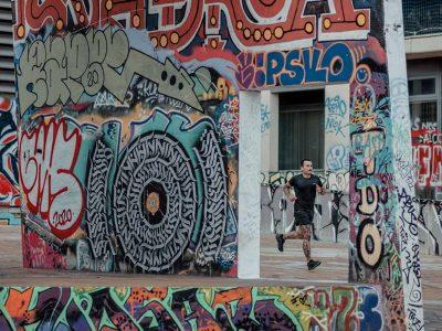 Arte urbano para entrenar cuerpo y mente en Barcelona