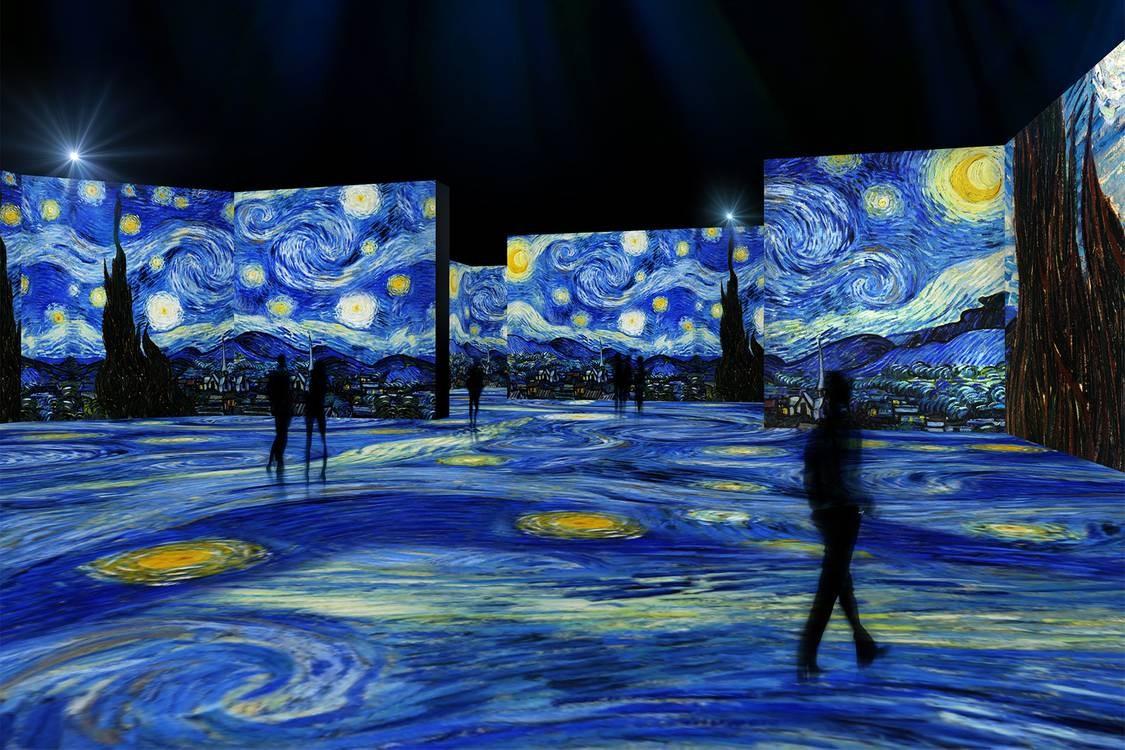 Crean una experiencia de inmersión en las obras de Vincent Van Gogh