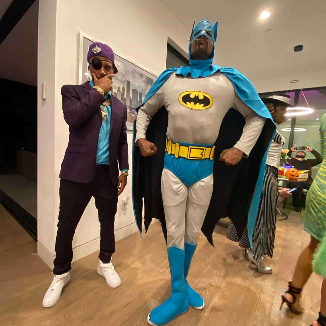 Slick Rick. N. Batman. @loodyboy As. The ruler