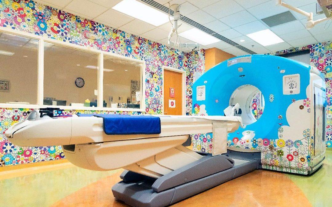 Takashi Murakami diseña una habitación de un Hospital infantil en Washington