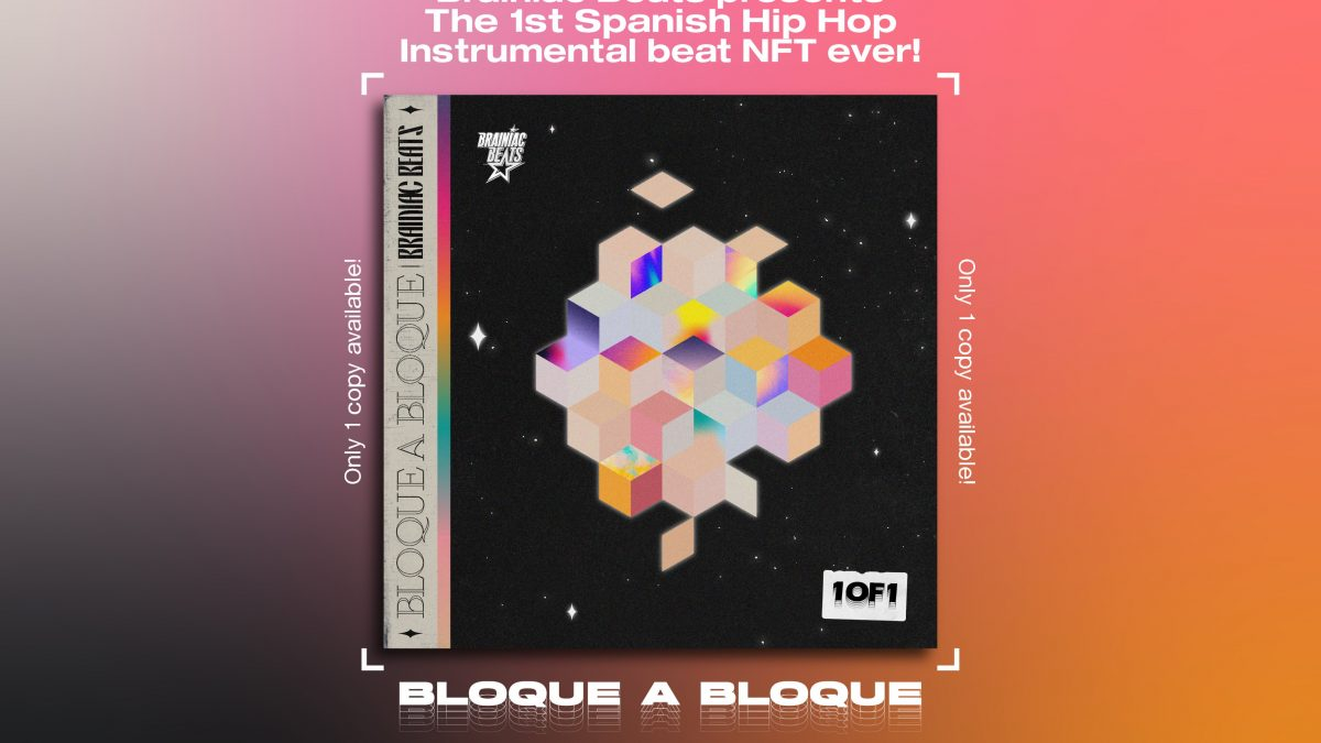 Brainiac Beats, primer productor de hip hop español en lanzar un NFT