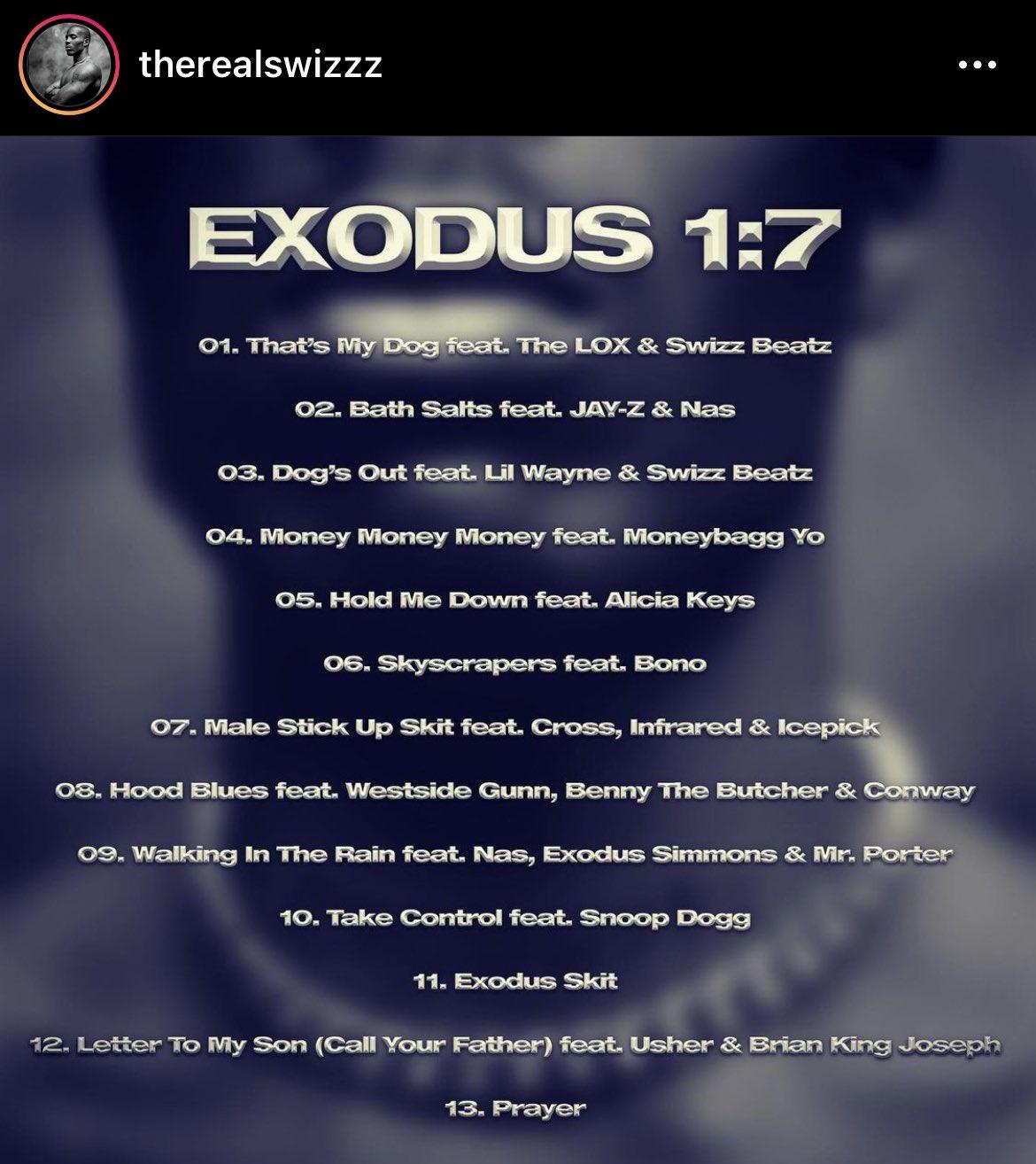 """Desvelado el tracklist del nuevo álbum póstumo de DMX """"Exodus"""""""
