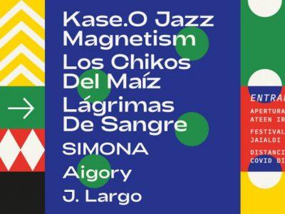 Kase.O, Lágrimas de Sangre y Los Chikos del Maíz en la décima edición de Donostia Festibala