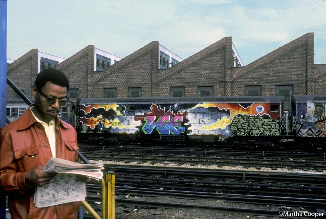 La historia de Martha Cooper, el documental indispensable sobre 'street art'