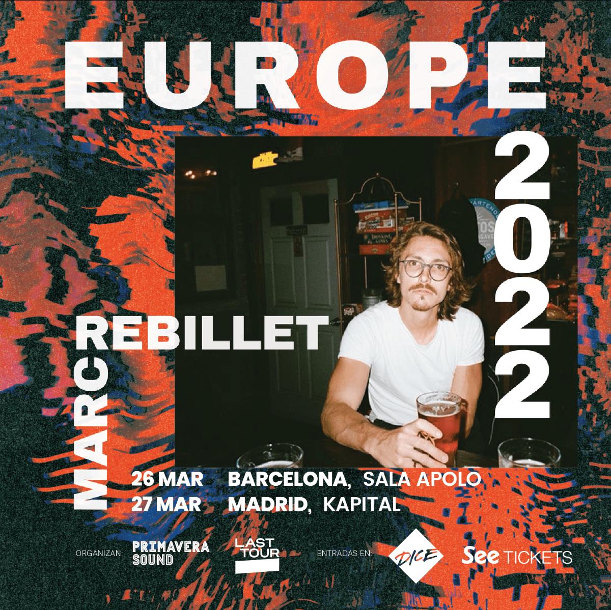 La broma funk de Marc Rebillet va muy en serio: conciertos en Barcelona y Madrid en marzo