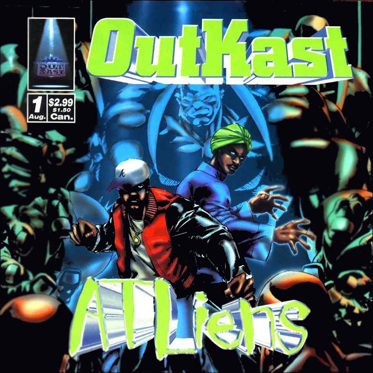 """OutKast celebra el 25 aniversario de """"ATLiens"""""""