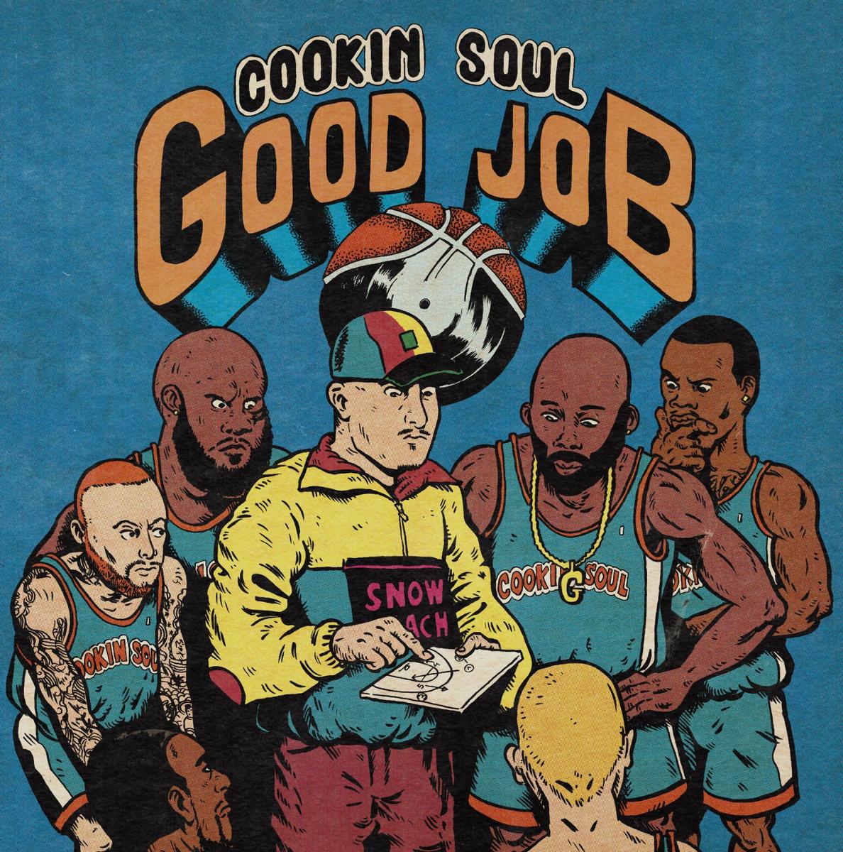 """Cookin Soul lanzan su nuevo álbum """"Good job"""""""