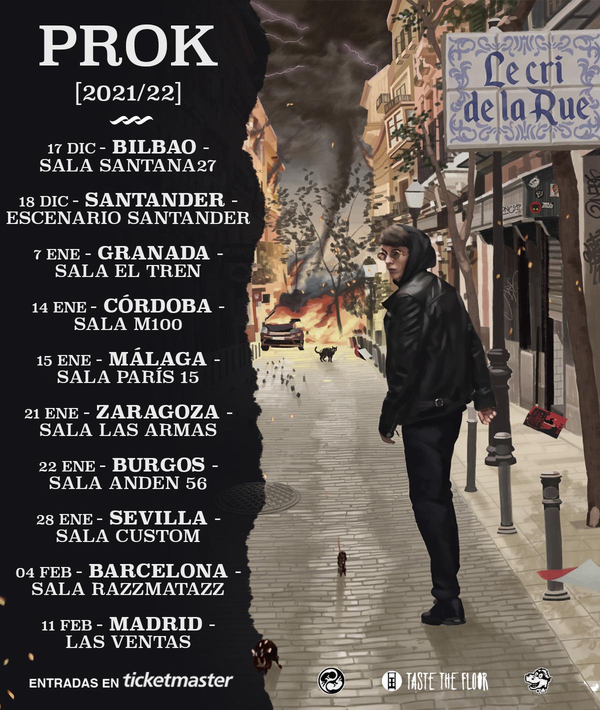 PROK anuncia la fecha de lanzamiento de su álbum
